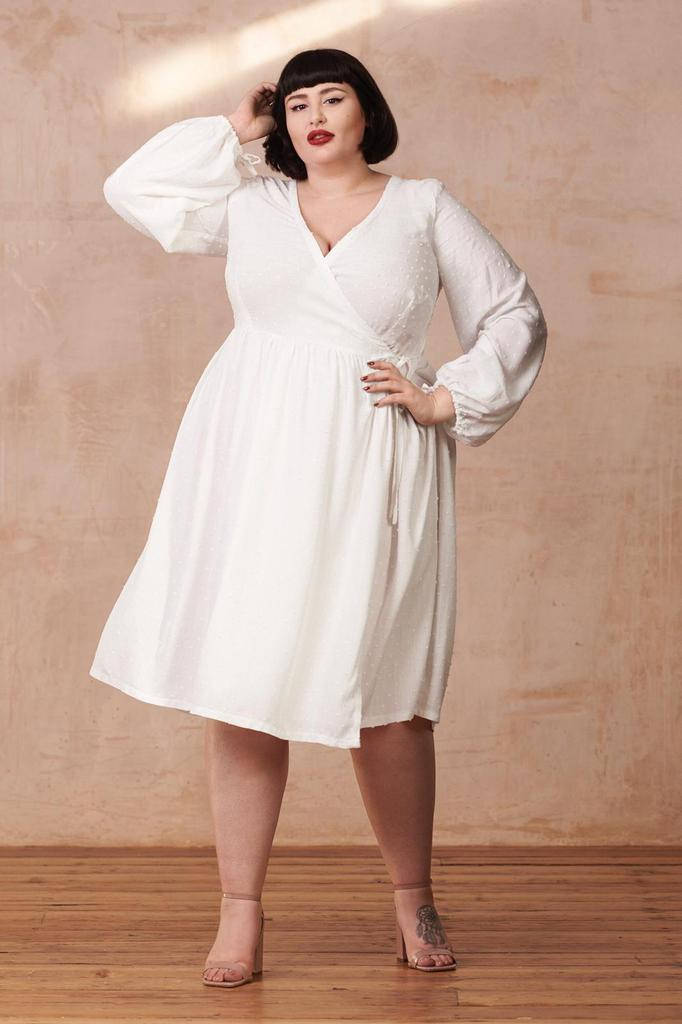 Extended size By Hand London Hannah Dress