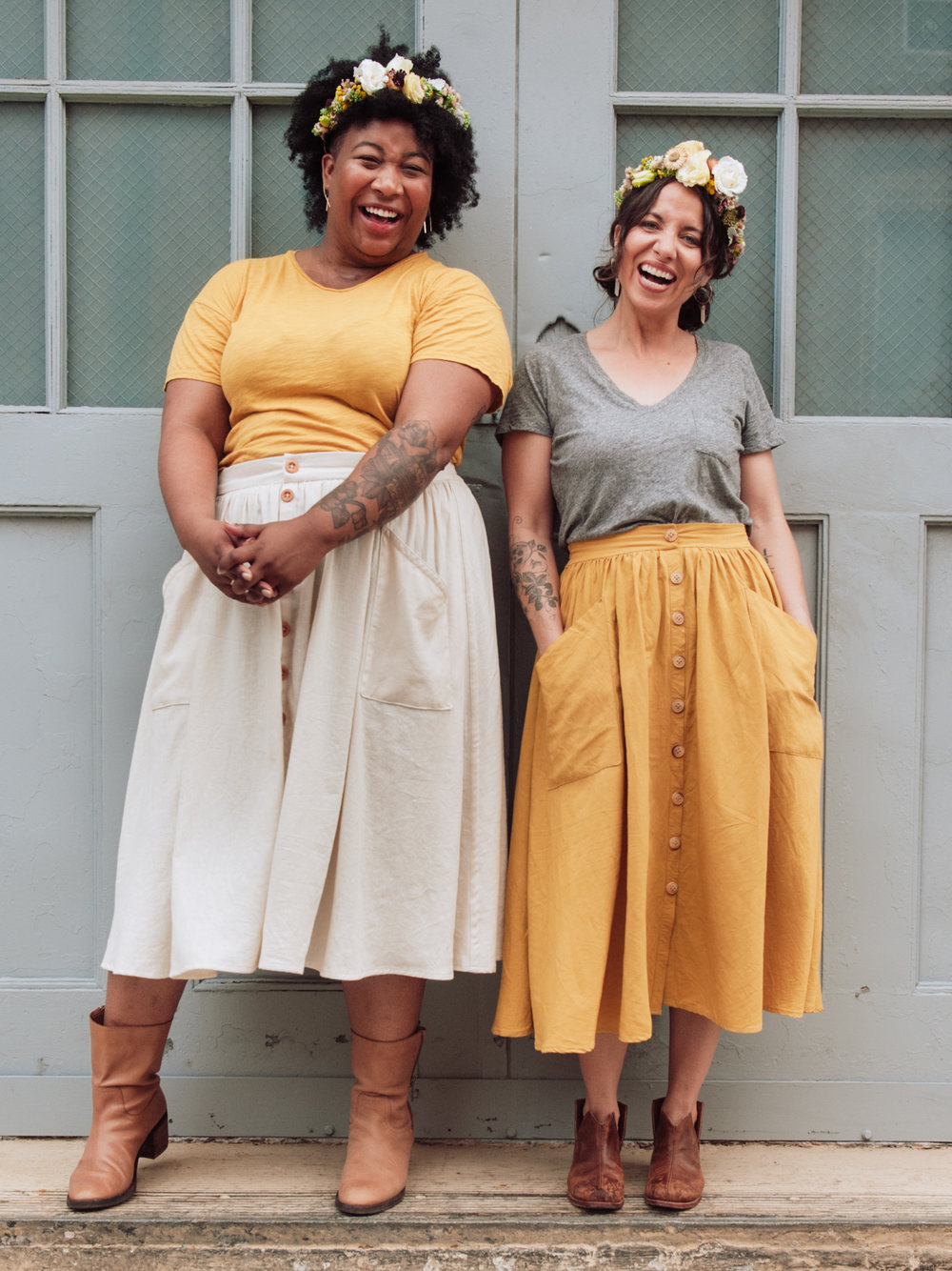 Extended size Sew Liberated Estuary Skirt