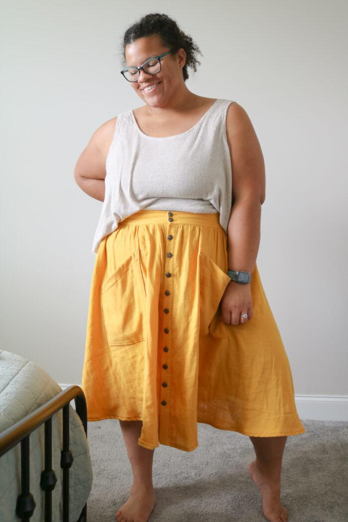mandabe4r's lovely Estuary skirt