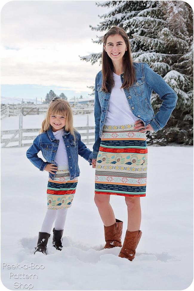 Peekaboo Piper & Pipsqueak Skirts