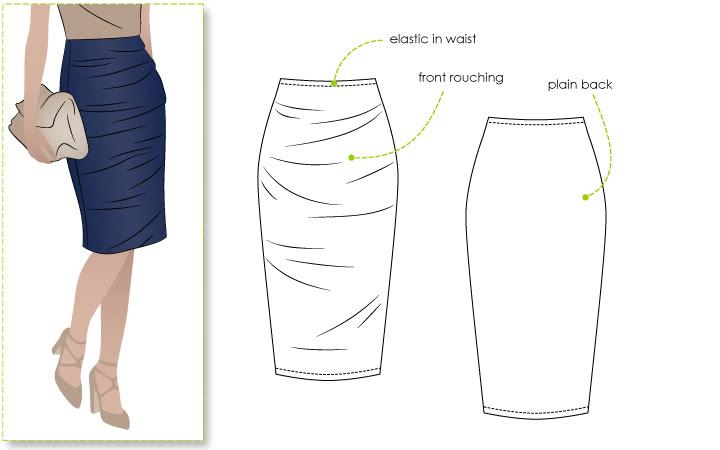 Style Arc Ali Skirt