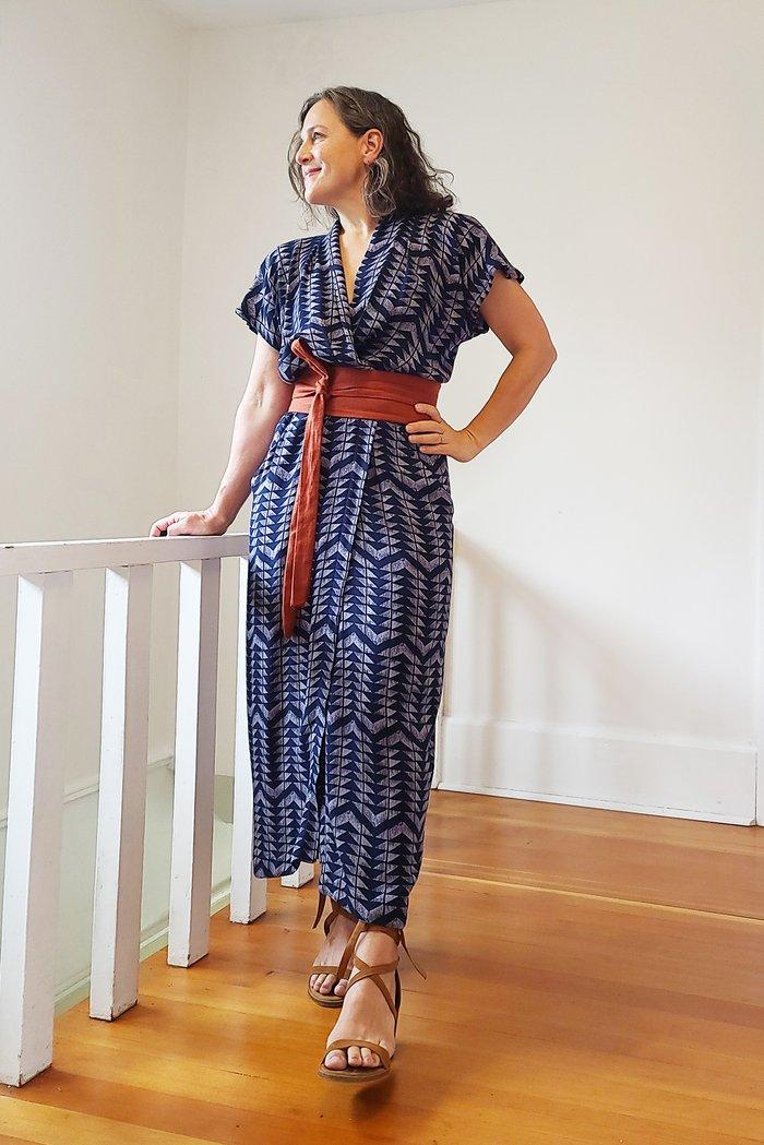 Sew House 7 Wildwood Wrap Dress Sewing Pattern