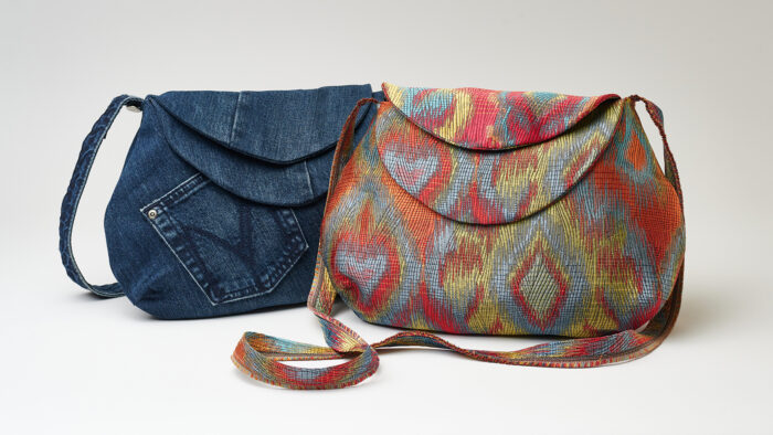 Flap bags sewing project