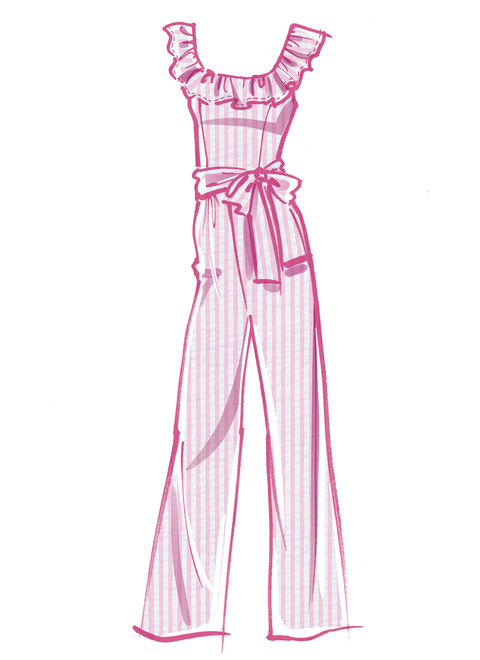McCall's Ruffle Pantsuit or Romper