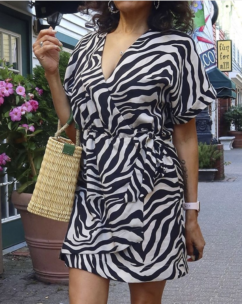 @sewhotmammi's make of Simplicity Sewing Pattern S9224 Misses' Wrap Dress Pattern