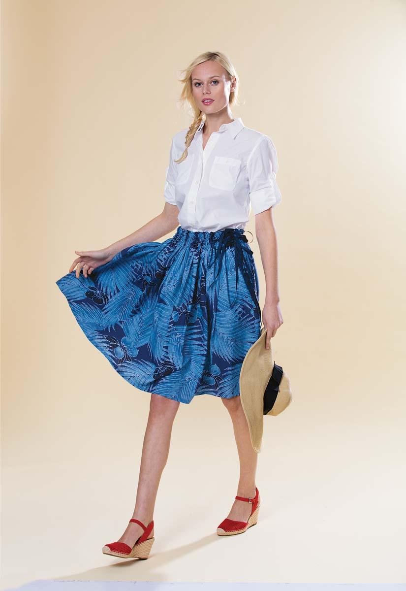hawaiian style summer skirt
