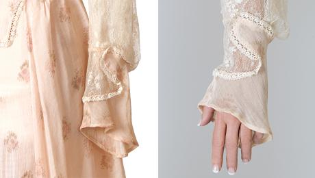 sleeve cuff detail