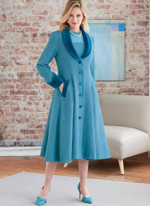 Butterick 6868 Jacket and Dress