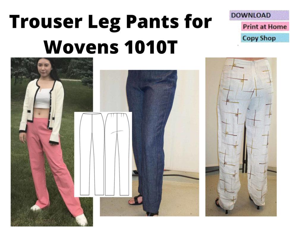 Christine Jonson Trouser Leg Pants for Wovens