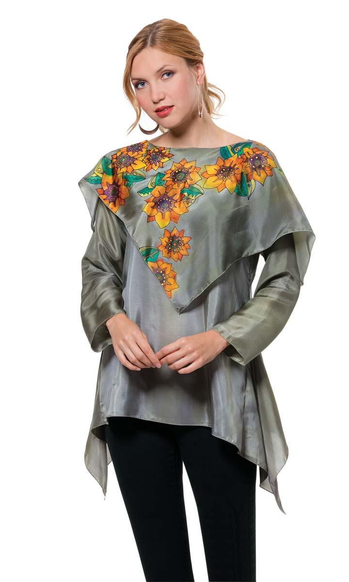 custom sunflower shirt