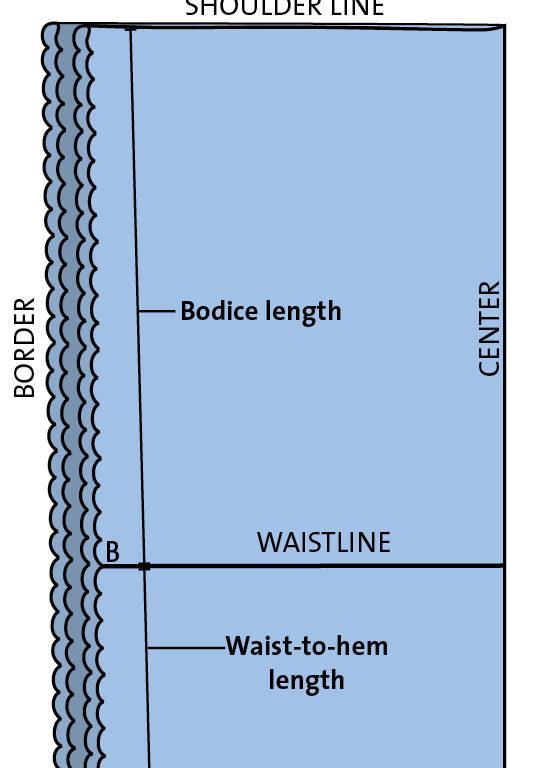 marking the waistline