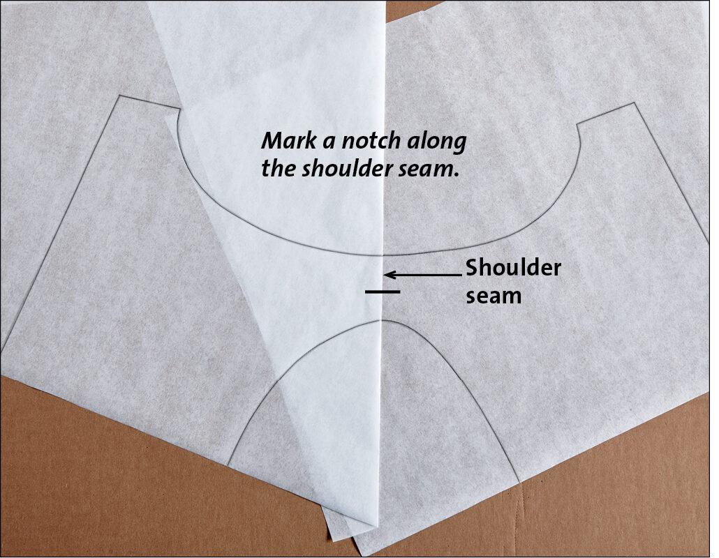 Add a shoulder notch