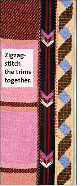zig zag stitching