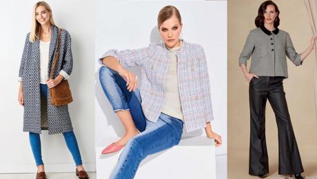 Chanel fabric pattern roundup