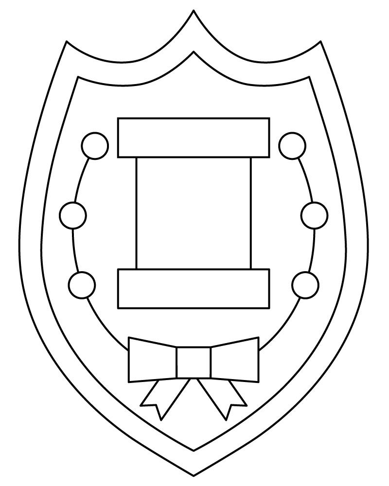 sketch for DIY insignia