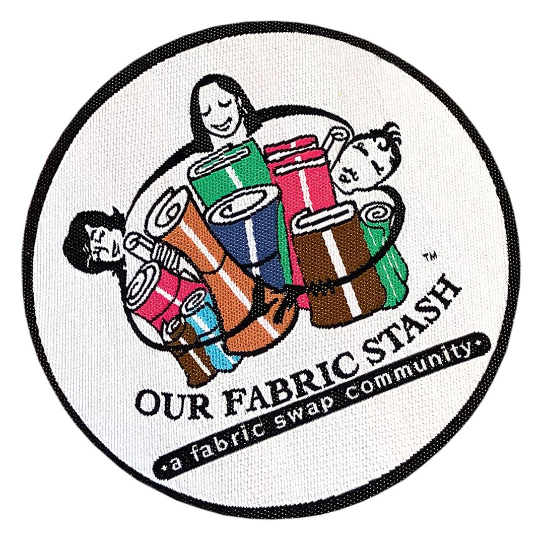 our fabric stash logo