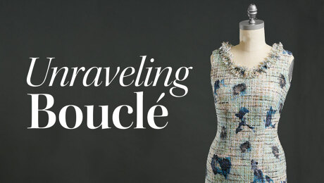 Bouclé: A Pro's Tips for Sewing This Richly Textured Fabric