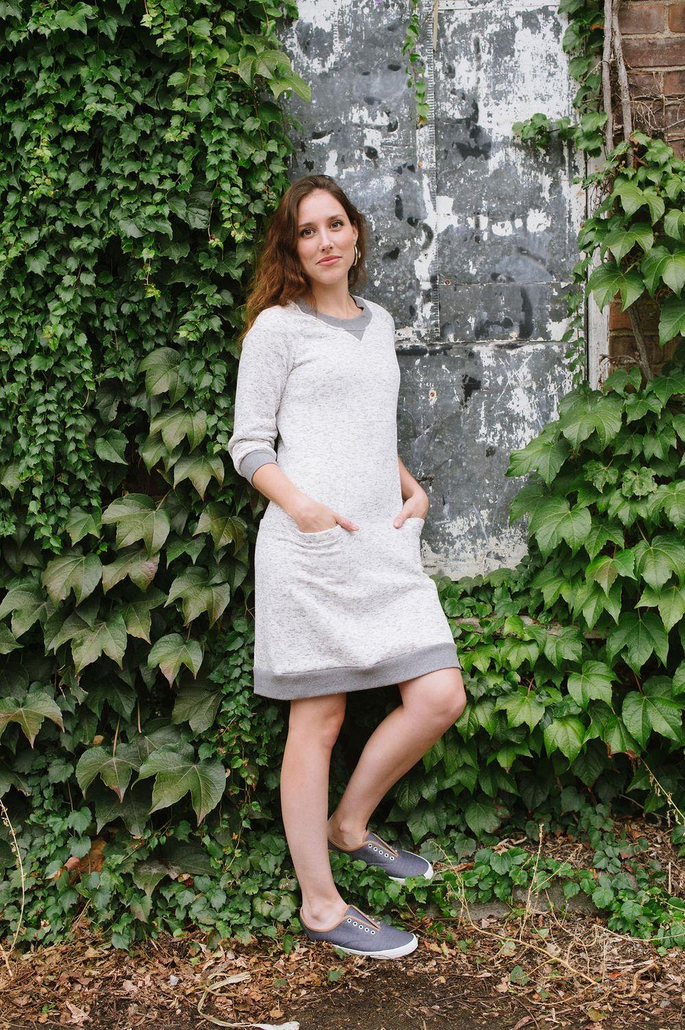 Victory Patterns Lola Sweater Dress