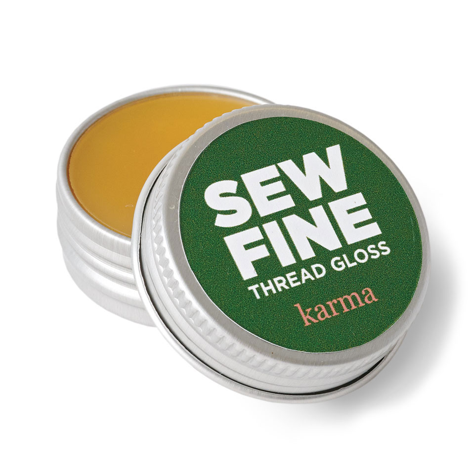 sew fine thread gloss