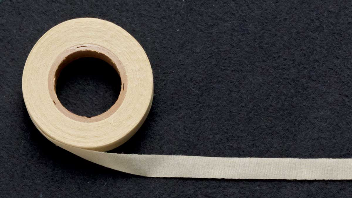 1/2-inch-wide fusible woven stay tape: