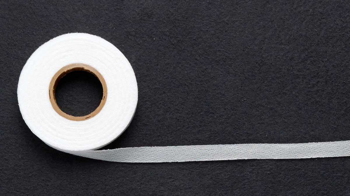 1/2-inch-wide fusible knit stay tape: