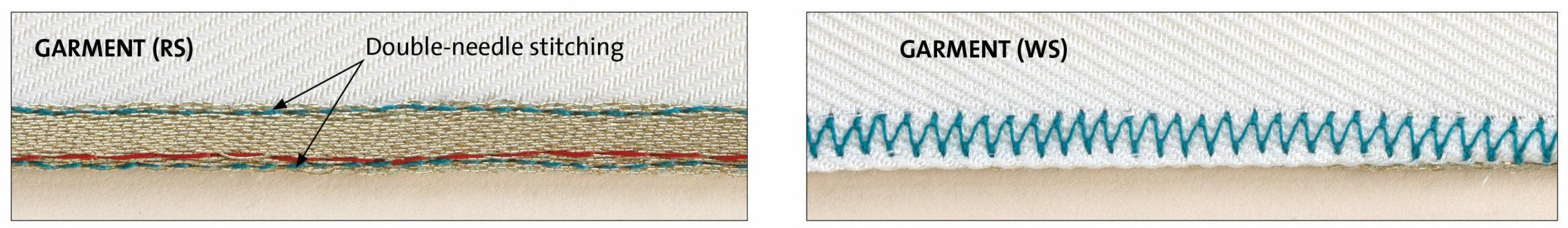 sew the hem of the edges