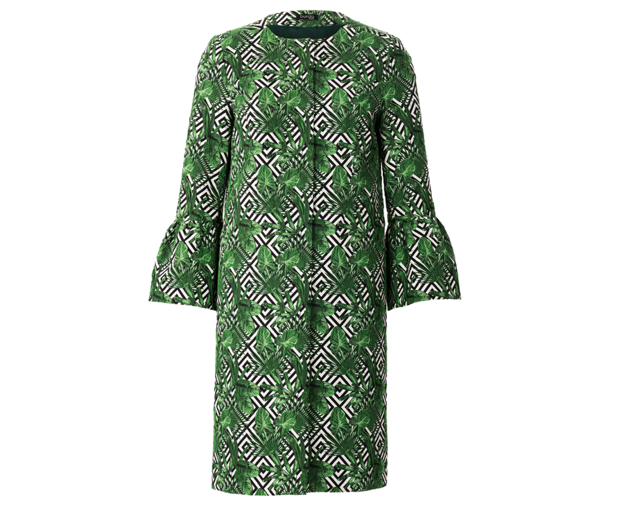 Burda Style coat pattern #101 March 2019, Pamela Howard's inspiration for the Runway Sewn Your Way challenge