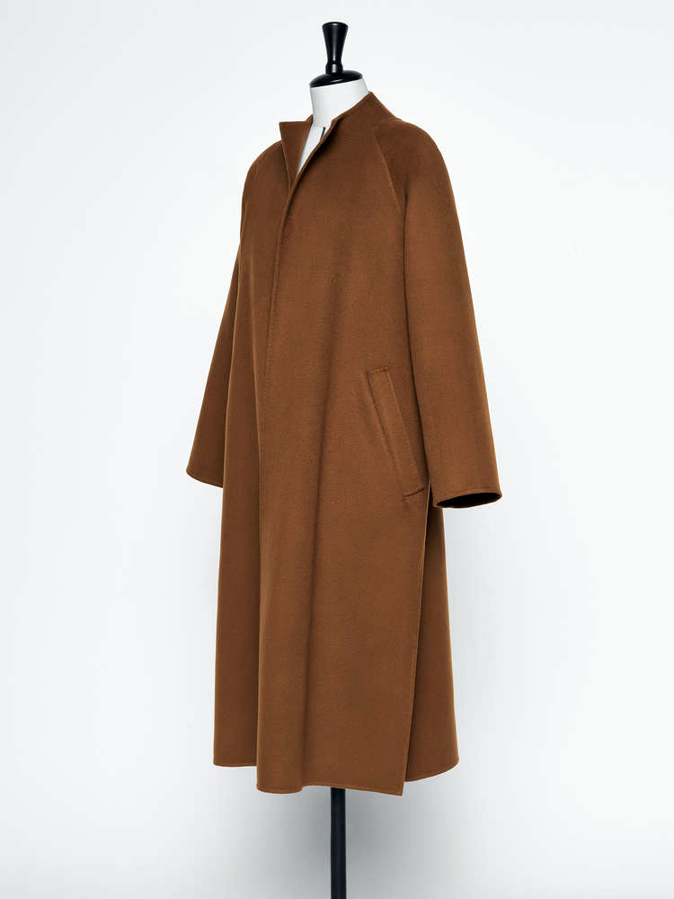 Pamela Howard's inspiration: a brown Max Mara coat