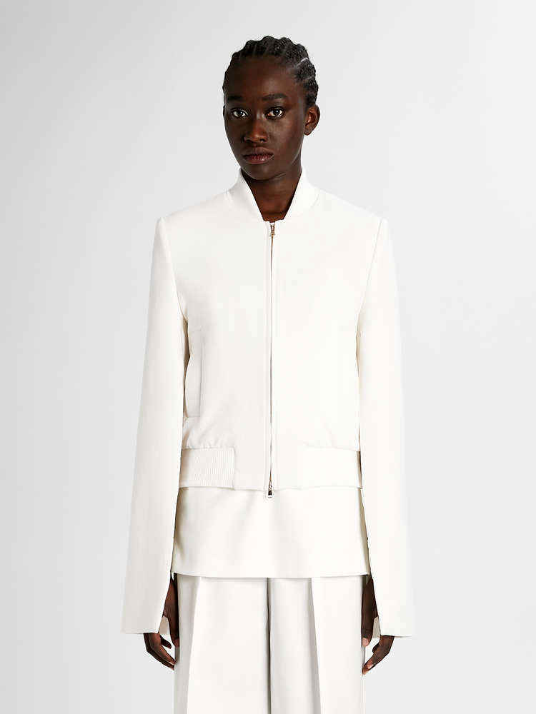 Pamela Howard's inspiration: Collar and sleeve inspiration from the Max Mara collection