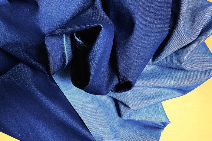 Underlining fabric, a midweight denim