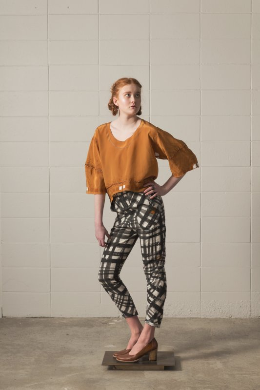 crop top sewing project