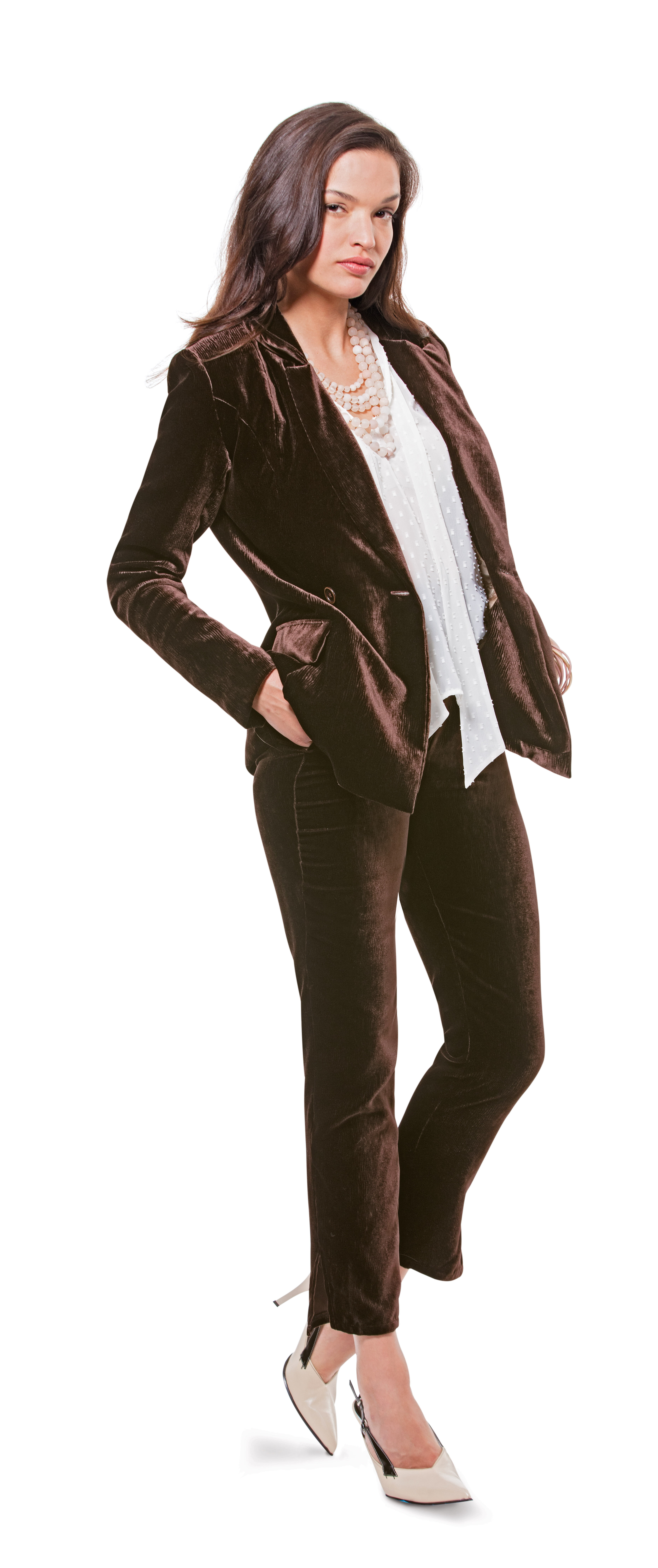 The comfortable suit, with slim or wide trousers, reigns supreme this season. The look works for any day of the week.