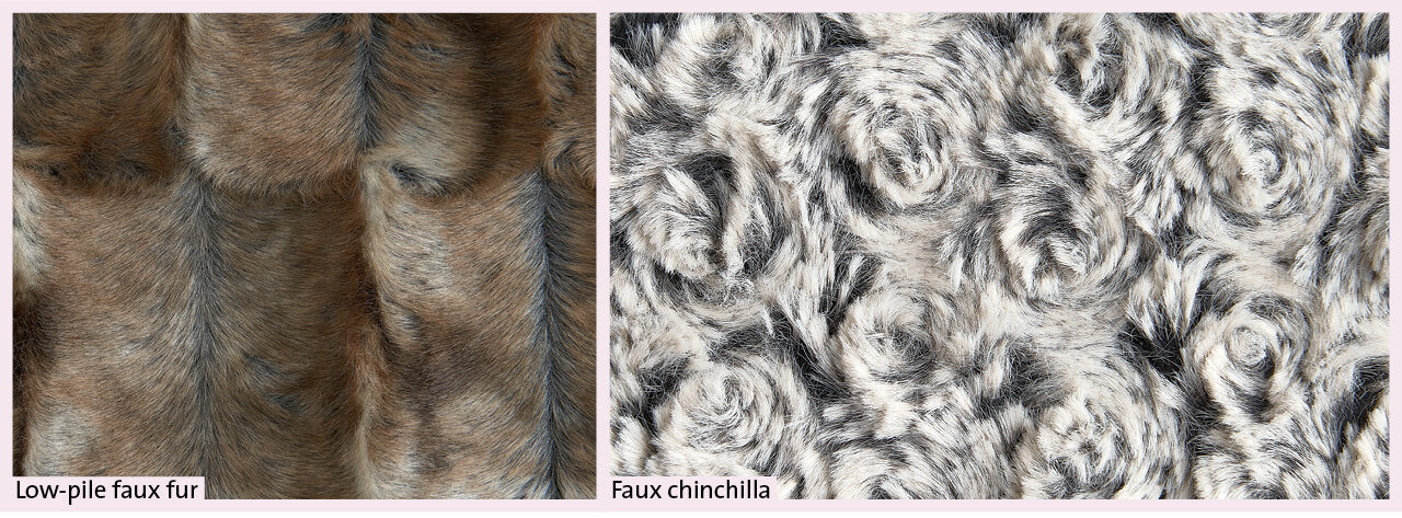 Faux fur and shearling