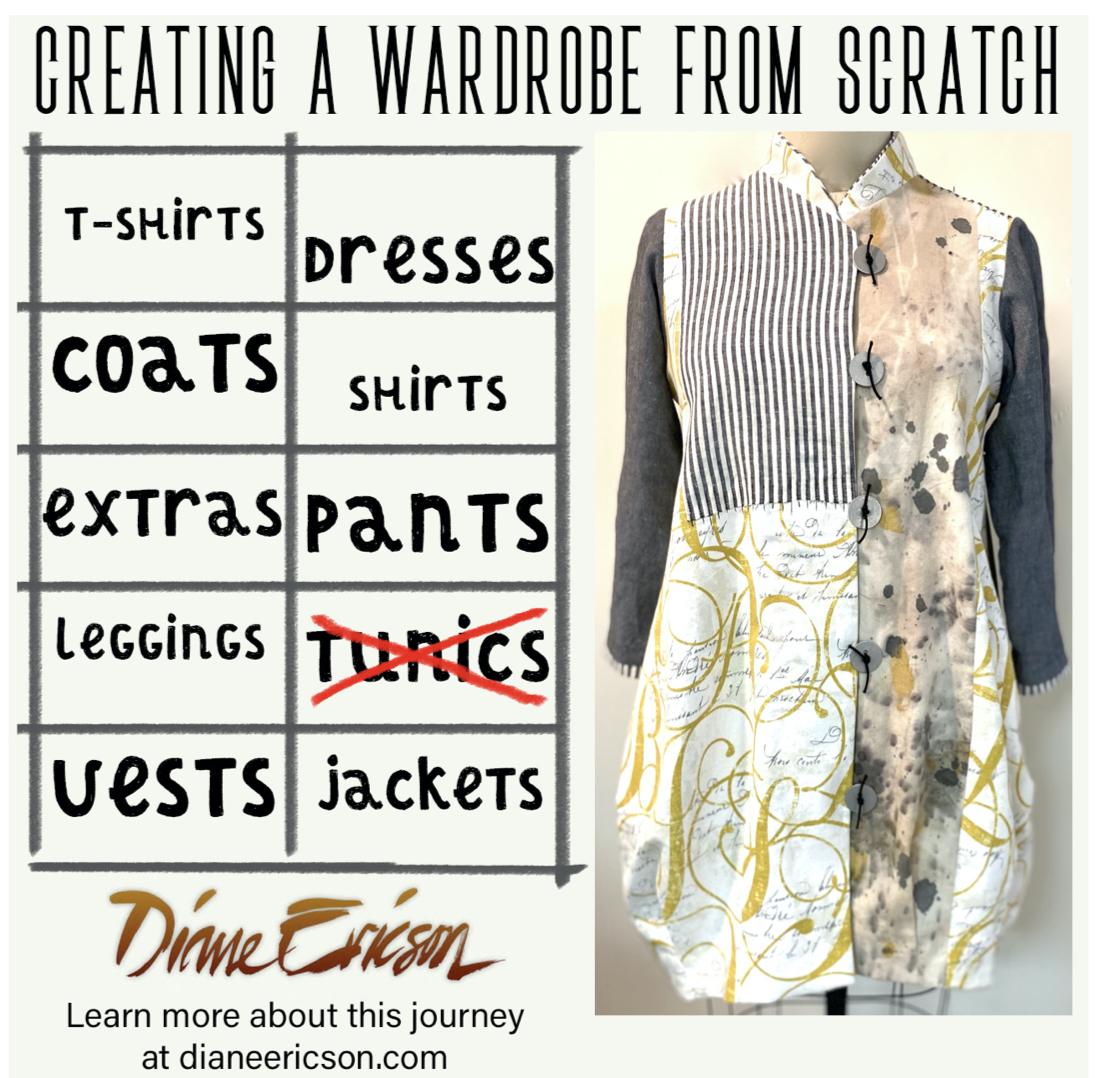 Wardrobe-building template by Diane Ericson