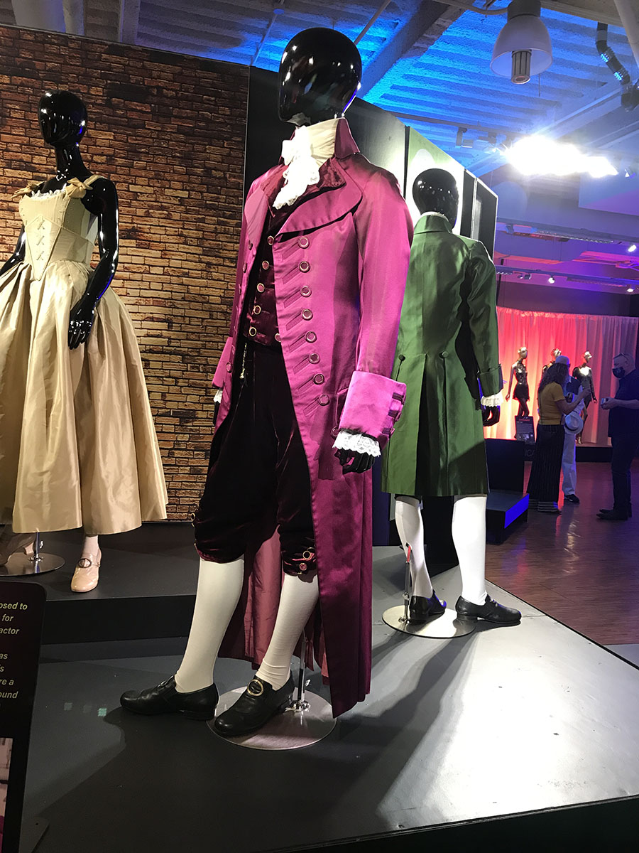 Costume exhibition includes garments from Broadway's Hamilton