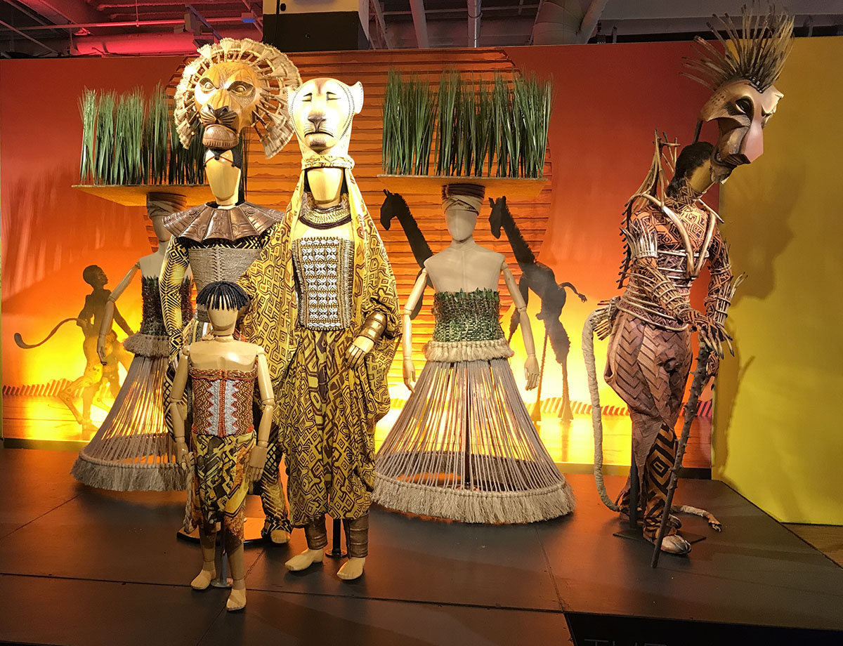 Showstoppers The Lion King costumes