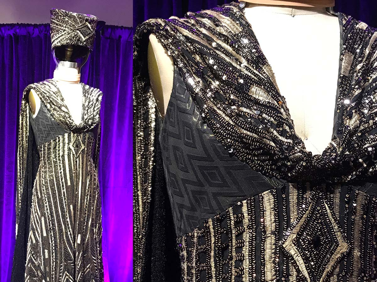 Dress from Respect, Showstoppers costume exhibition