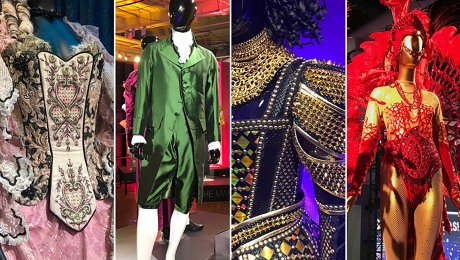 Showstoppers! costume exhibition, four examples