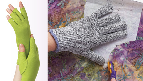 sewing gloves