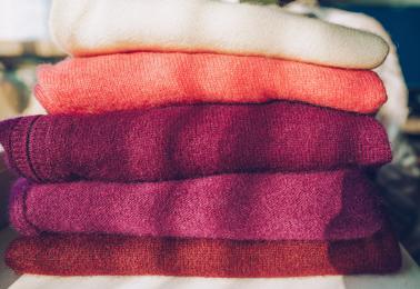 Soft sweaters in alpaca knit