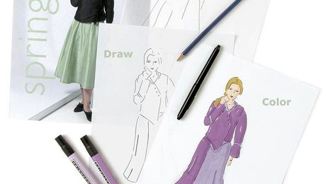 Fashion Sketching For Untrained Artists Threads