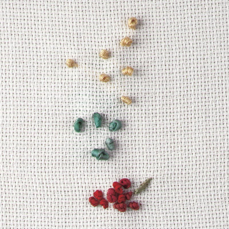 Beginners' Silk-Ribbon Embroidery: Five Easy Stitches - Threads
