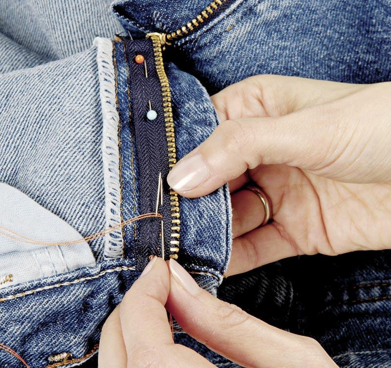 How To Replace A Broken Zipper Threads
