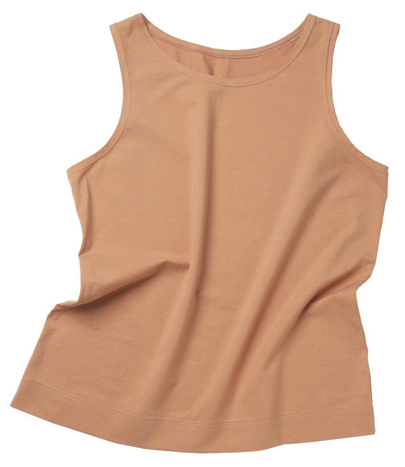 Tank-top-style T-shirt