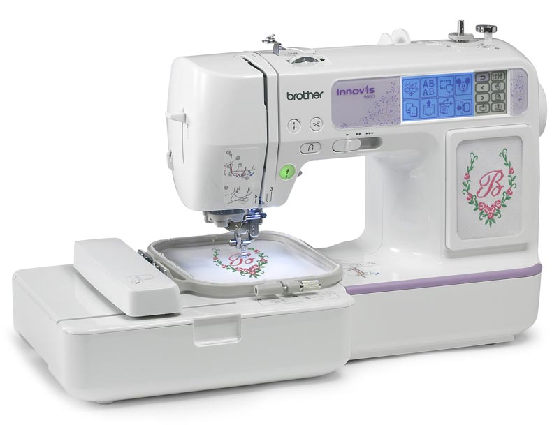 New Sewing Machines By Brother Threads Inspiration Brother Se350 Computerized EmbroideryAndSewing Machine