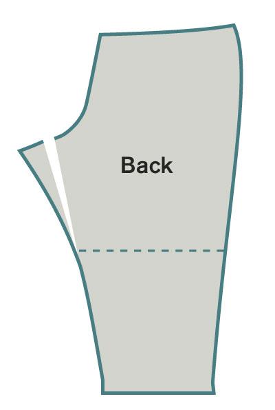 Move the back inseam
