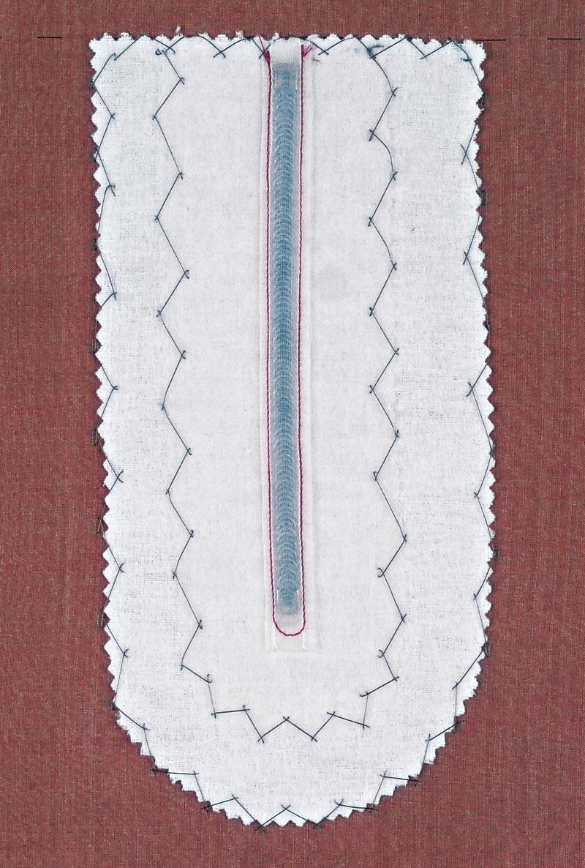 A flannel buffer