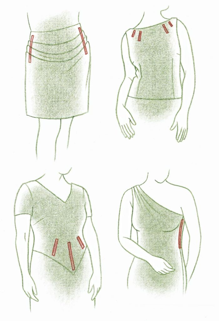 d11cd6ea19 Sometimes a few bones in a daywear garment are indispensable  for example