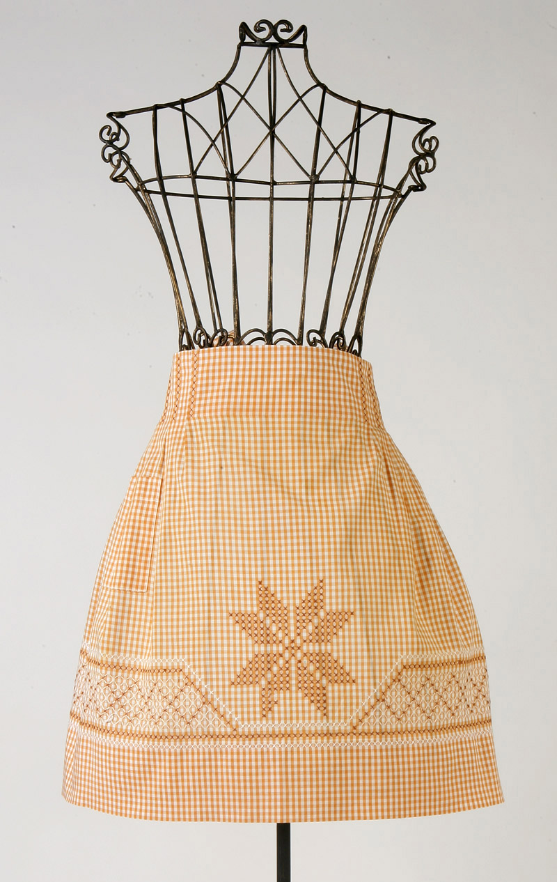 Natural beauty apron