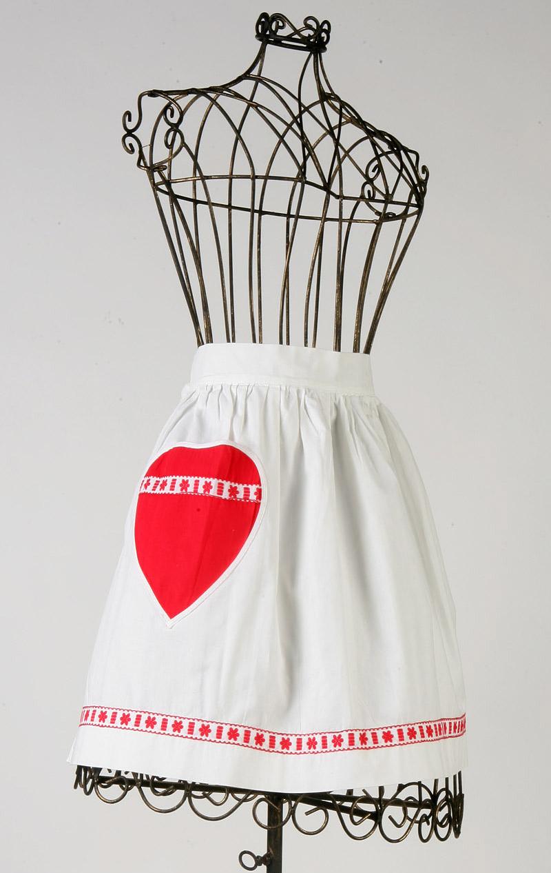 Holiday charm apron